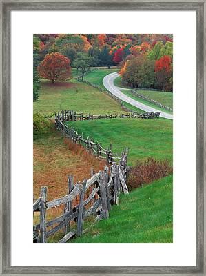 Usa, North Carolina, Blue Ridge Framed Print by Jaynes Gallery