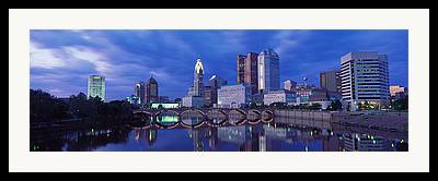 Ohio. Oh Framed Prints