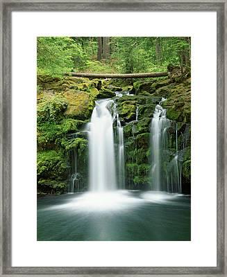 Usa, Oregon, Cascade Range, Umpqua Framed Print by Jaynes Gallery