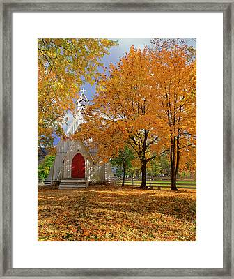 Usa, Oregon, Cove Framed Print by Jaynes Gallery