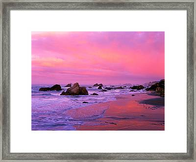 Usa, Oregon, Harris State Beach Framed Print by Jaynes Gallery
