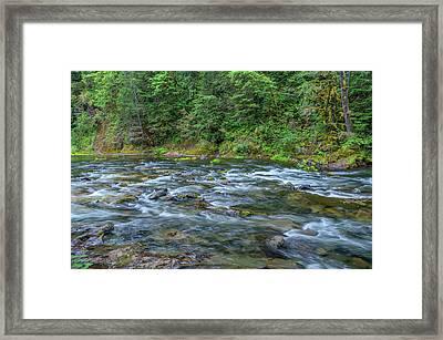 Usa, Oregon, Mount Hood National Framed Print