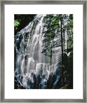 Usa, Oregon, Mt Hood Wilderness Ramona Framed Print by Jaynes Gallery