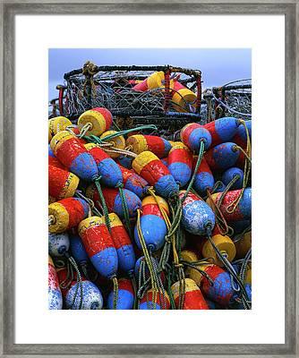 Usa, Oregon, Newport Framed Print