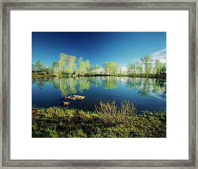 Usa, Oregon, Steens Mountain National Framed Print by Scott T. Smith
