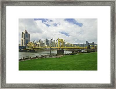 Usa, Pennsylvania, Pittsburgh Framed Print by Jaynes Gallery
