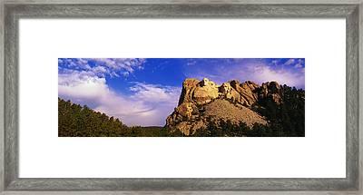 Usa, South Dakota, Mount Rushmore Framed Print by Panoramic Images