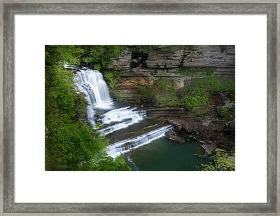 Usa, Tennessee, Cummins Falls State Park Framed Print by Jaynes Gallery