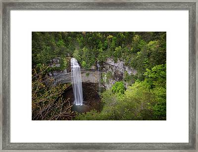 Usa, Tennessee Fall Creek Falls Framed Print by Jaynes Gallery