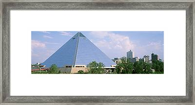 Usa, Tennessee, Memphis, The Pyramid Framed Print by Panoramic Images