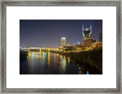 Usa, Tennessee, Nashville Framed Print by Jaynes Gallery