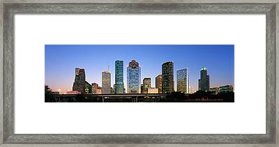Usa, Texas, Houston Framed Print by Panoramic Images