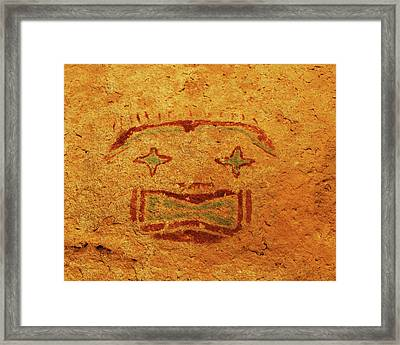 Usa, Texas, Hueco Tanks State Historic Framed Print