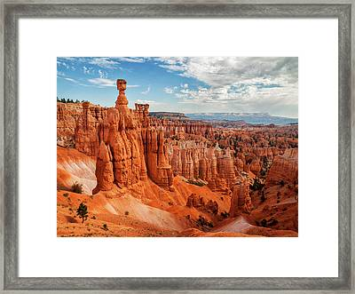 Usa, Utah, Bryce Canyon National Park Framed Print