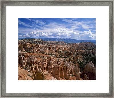 Usa, Utah, Bryce Canyon National Park Framed Print