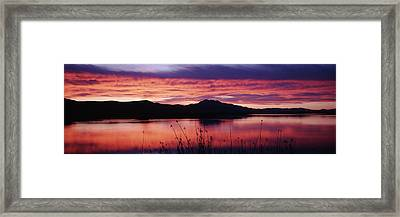 Usa, Utah, Cache Valley, Great Basin Framed Print by Scott T. Smith