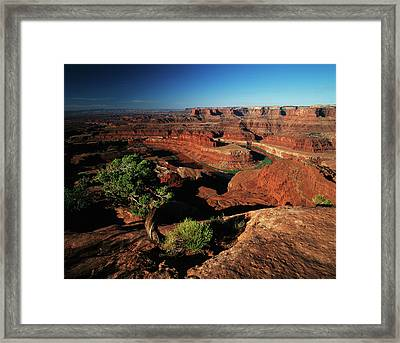 Usa, Utah, Dead Horse Point State Park Framed Print by Adam Jones
