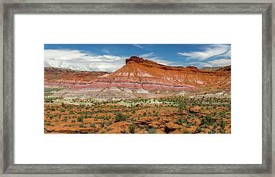 Usa, Utah, Grand Staircase-escalante Framed Print by Charles Crust