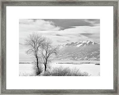 Usa, Utah, Heber City Framed Print