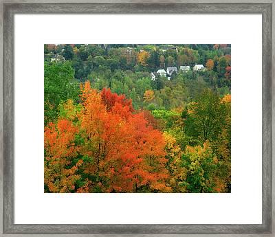 Usa, Vermont, Saint Johnsbury Framed Print by Jaynes Gallery