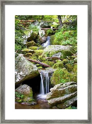 Usa, Virginia, Blue Ridge Framed Print
