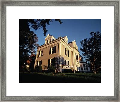 Usa, Virginia, Staunton, View Framed Print