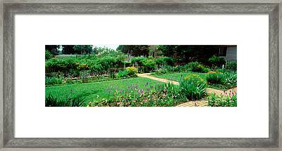 Usa, Virginia, Williamsburg, Colonial Framed Print by Panoramic Images