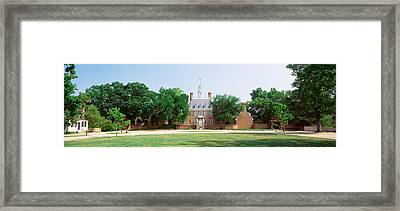 Usa, Virginia, Williamsburg, Governors Framed Print by Panoramic Images