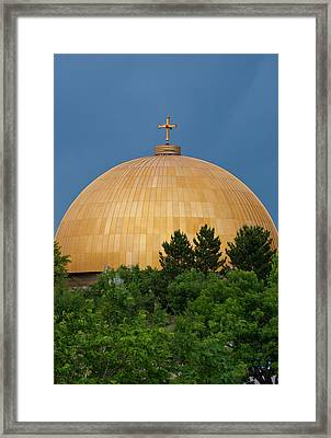 Usa, Wa, Denver Assumption Framed Print by Trish Drury