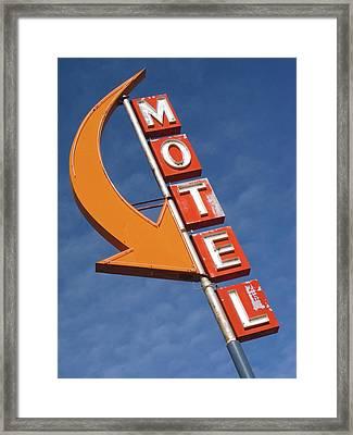Usa, Washington, Cle Elum Framed Print