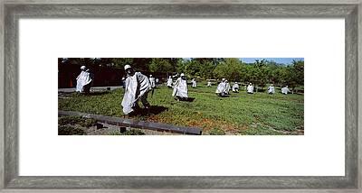 Usa, Washington Dc, Korean War Framed Print by Panoramic Images