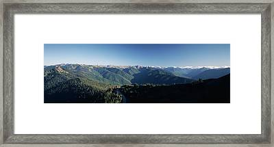 Usa, Washington, Olympic Peninsula Framed Print