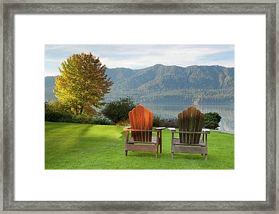 Usa, Washington, Quinault Framed Print by Jaynes Gallery