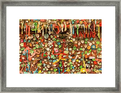 Usa, Washington State, Seattle Framed Print by Brent Bergherm