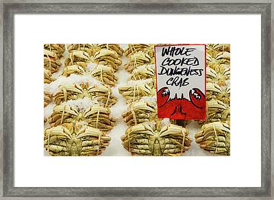 Usa, Washington State, Seattle Framed Print by Charles Crust