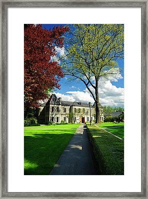 Usa, Washington, Woodinville Framed Print