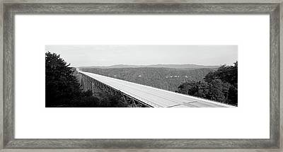 Usa, West Virginia, Route 19, High Framed Print by Panoramic Images