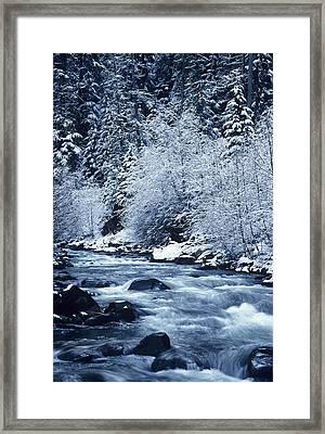 Usa, Willamette National Forest Oregon Framed Print by Greg Vaughn