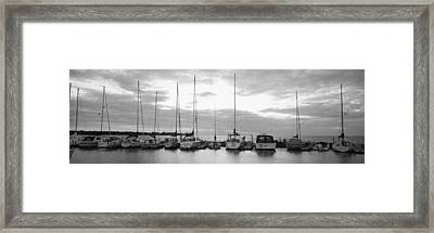 Usa, Wisconsin, Door County, Egg Framed Print by Panoramic Images