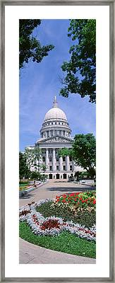 Usa, Wisconsin, Madison, State Capital Framed Print by Panoramic Images