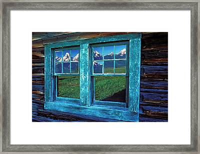 Usa, Wyoming, Grand Teton National Framed Print by Jaynes Gallery