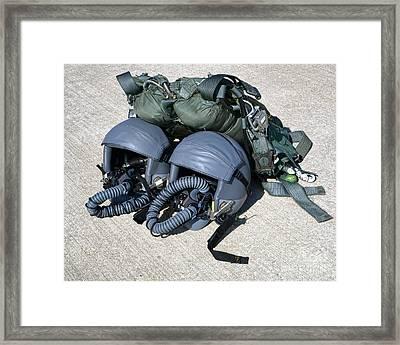 Usaf Gear Framed Print by Olivier Le Queinec