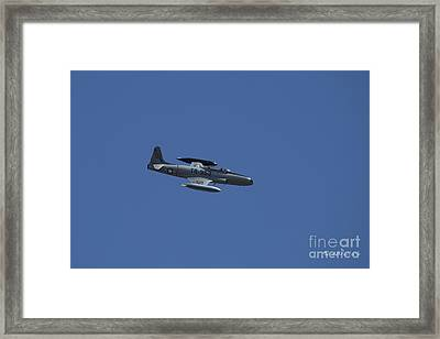 Usaf Lockheed T-33 'tr-953' Fly By Framed Print