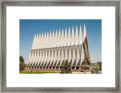 Air Force Academy Chapel Framed Print