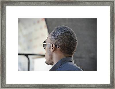 Usain Bolt - The Legend 2 Framed Print