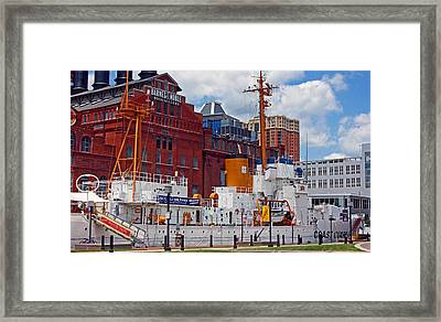 Uscg Cutter Taney Framed Print