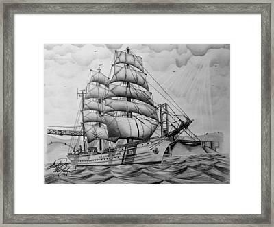 Uscgc Eagle Framed Print by Scott McIntire