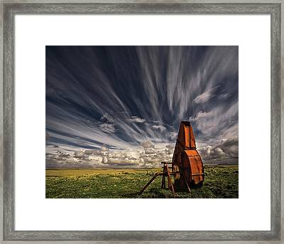 Used And Forgotten Framed Print