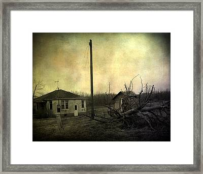 Used To Be Framed Print by Gothicrow Images
