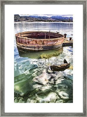 Uss Arizona Memorial- Pearl Harbor V7 Framed Print